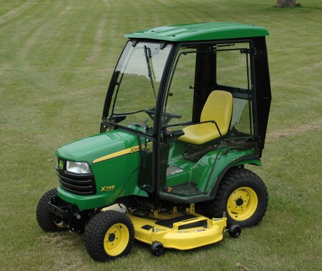 John Deere X700 Select Series Tractor Cab by Custom Products